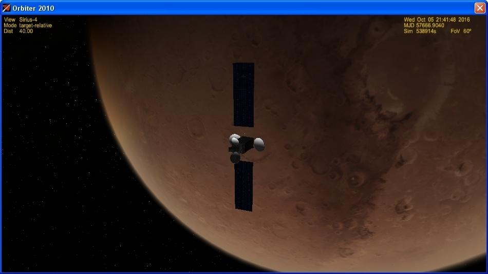 Орбитальный детектив или как улетал ЭкзоМарс - 30