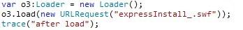 Решето под названием Adobe Flash - 8