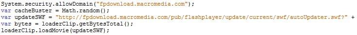 Решето под названием Adobe Flash - 9