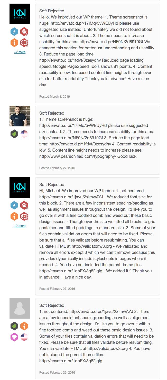 Тернистый путь к продажам на Themeforest.net - 15