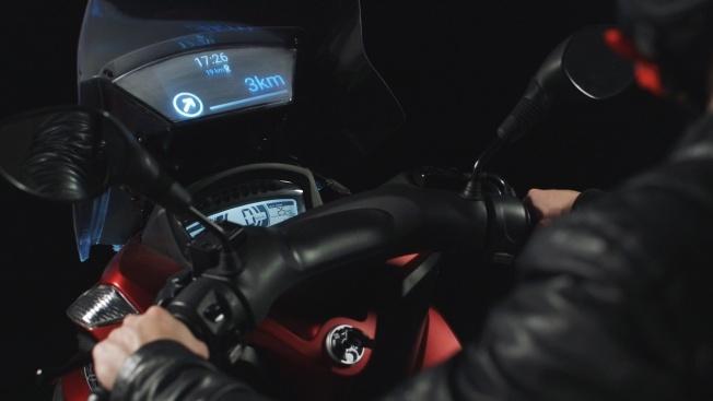 Samsung разработала устройство для мотоциклов