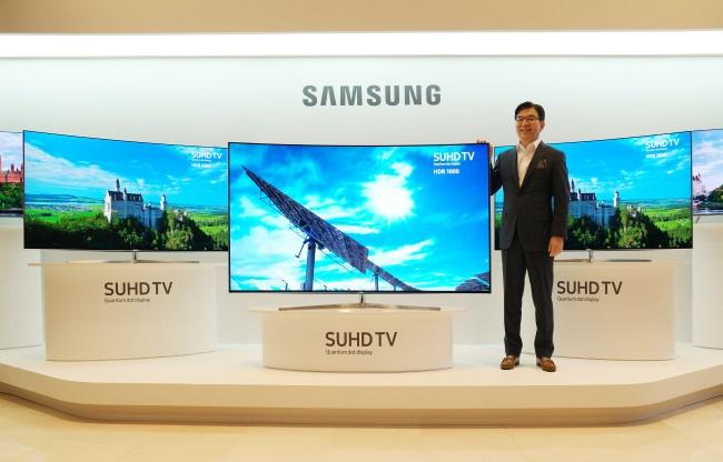 Samsung показала новые телевизоры с технологией квантовых точек
