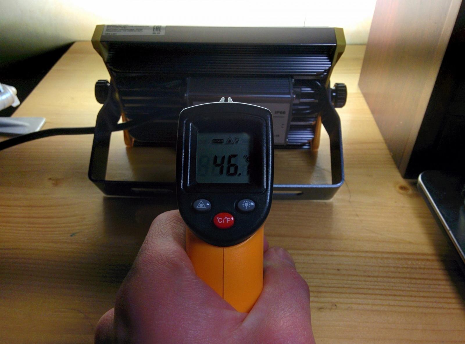 Необычный светодиодный прожектор от НАНОСВЕТ с испытанием в полевых условиях - 16