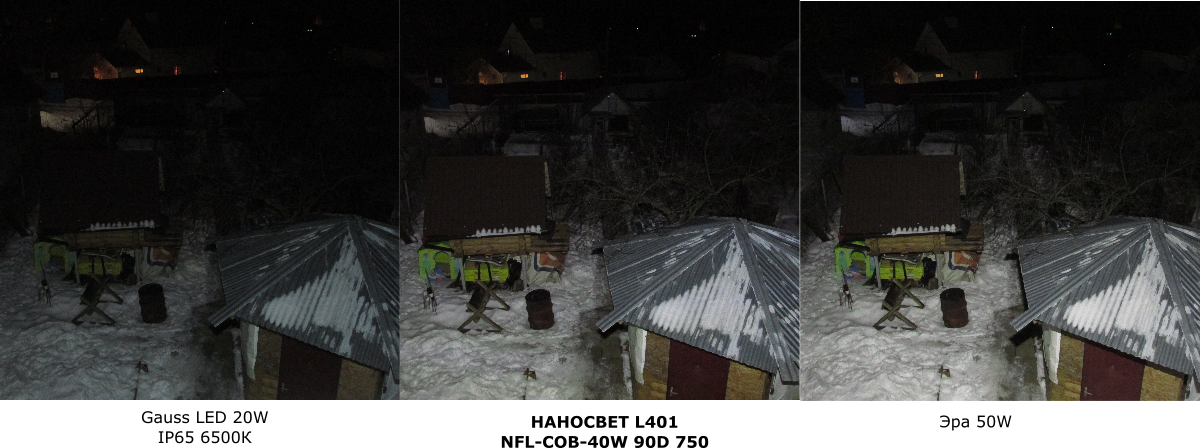 Необычный светодиодный прожектор от НАНОСВЕТ с испытанием в полевых условиях - 28