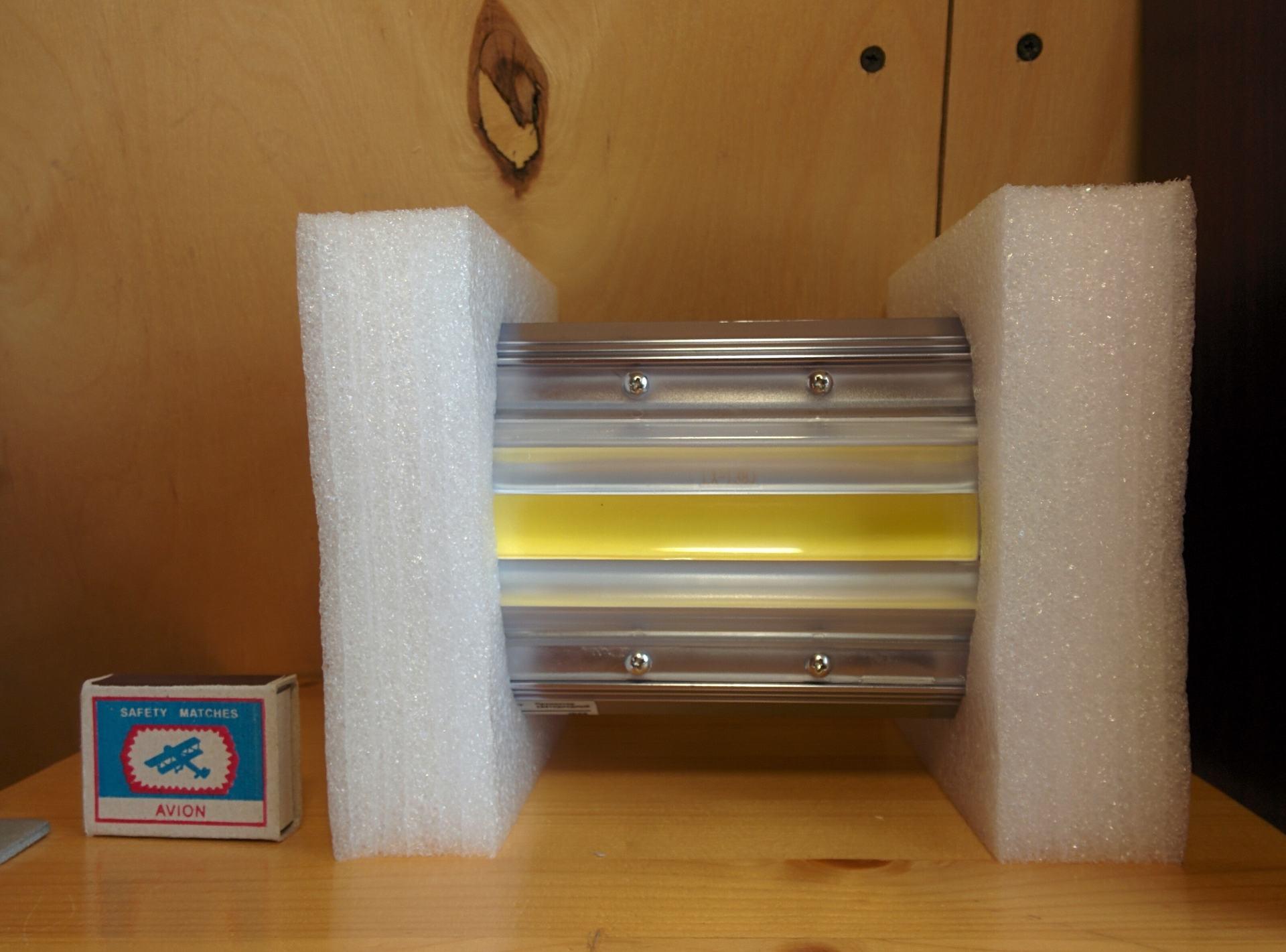 Необычный светодиодный прожектор от НАНОСВЕТ с испытанием в полевых условиях - 6