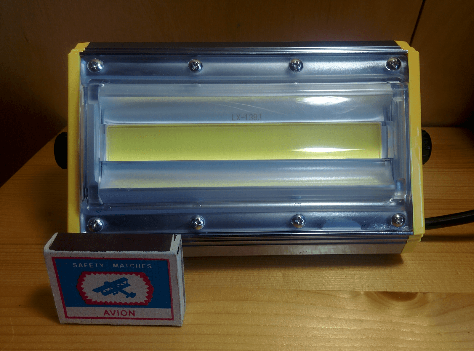 Необычный светодиодный прожектор от НАНОСВЕТ с испытанием в полевых условиях - 9