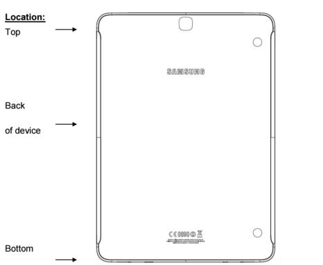 Планшет Samsung Galaxy Tab S3 будет очень похож на предшественника