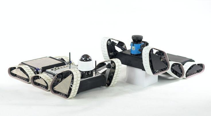 Общей особенностью роботов ARTI3 является запатентованная конструкция шасси Articulated Traction Control (ARTI)
