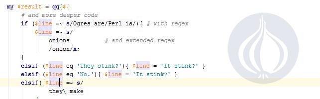 Вышла версия 1.4 Perl плагина для IntelliJ IDEA - 1