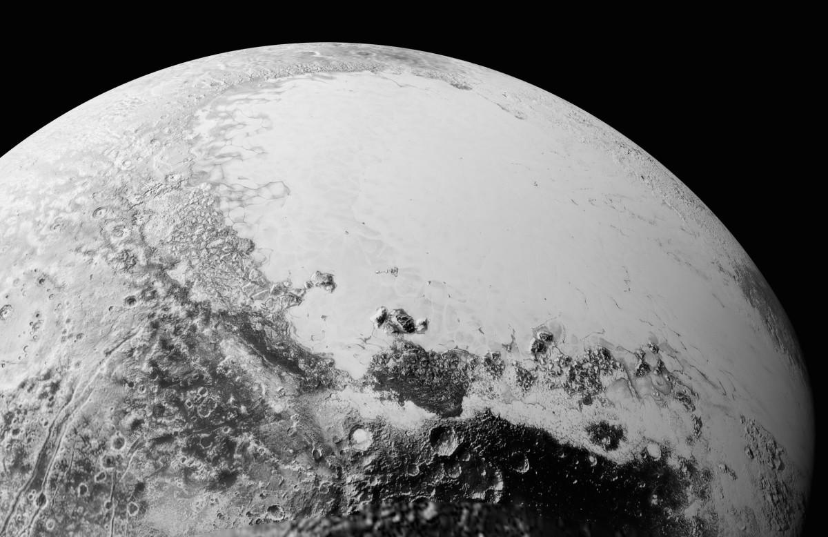 800 тысяч лет назад на Плутоне могли существовать реки и озера - 1