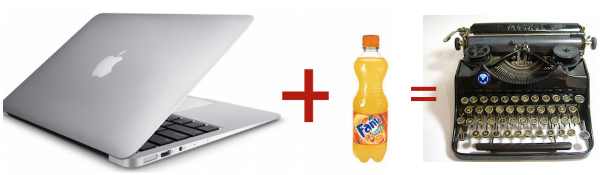 Macbook + Fanta=Ятрань-Москва? - 1