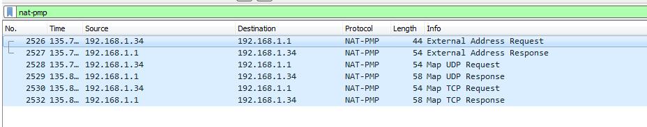 Открываем порты за NAT при помощи NAT-PMP и UPnP IGD - 2