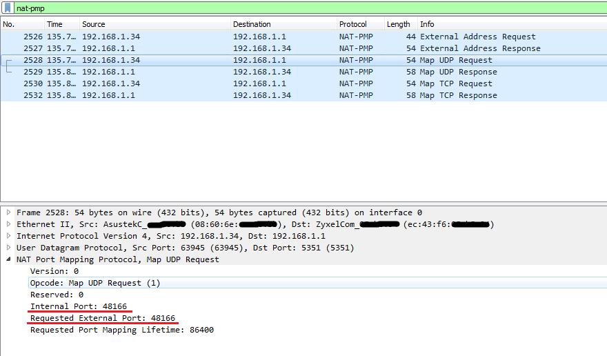 Открываем порты за NAT при помощи NAT-PMP и UPnP IGD - 3
