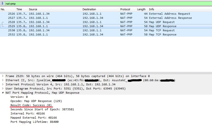 Открываем порты за NAT при помощи NAT-PMP и UPnP IGD - 4