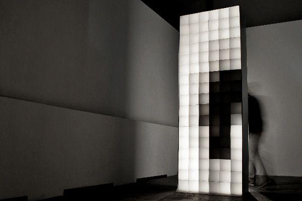 Pixel Installation aram bartholl