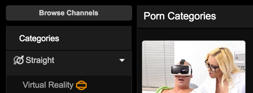 PornHub добавил категорию виртуальной реальности - 1