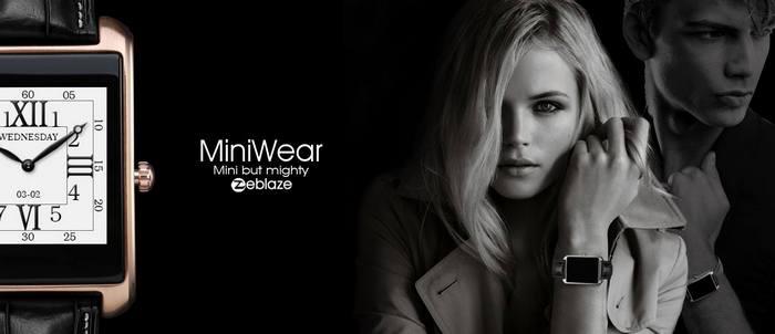 Zeblaze готовится анонсировать умные часы Zeblaze Mini Wear