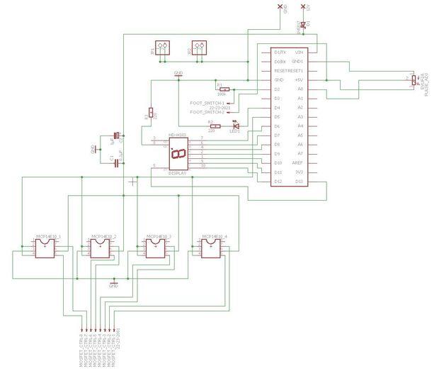Аппарат для точечной сварки на основе Arduino Nano - 2
