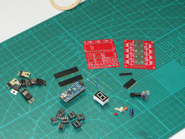 Аппарат для точечной сварки на основе Arduino Nano - 4