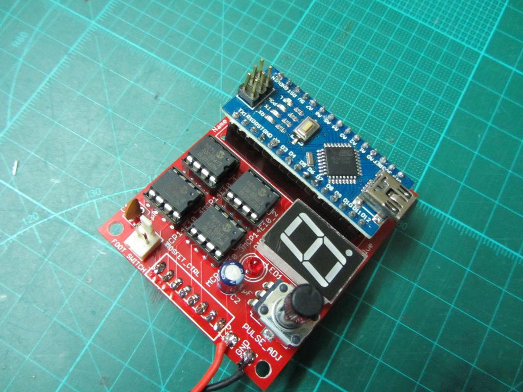 Аппарат для точечной сварки на основе Arduino Nano - 5