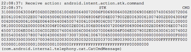 Эмуляция и перехват SIM-команд через SIM Toolkit на Android 5.1 и ниже (CVE-2015-3843) - 2