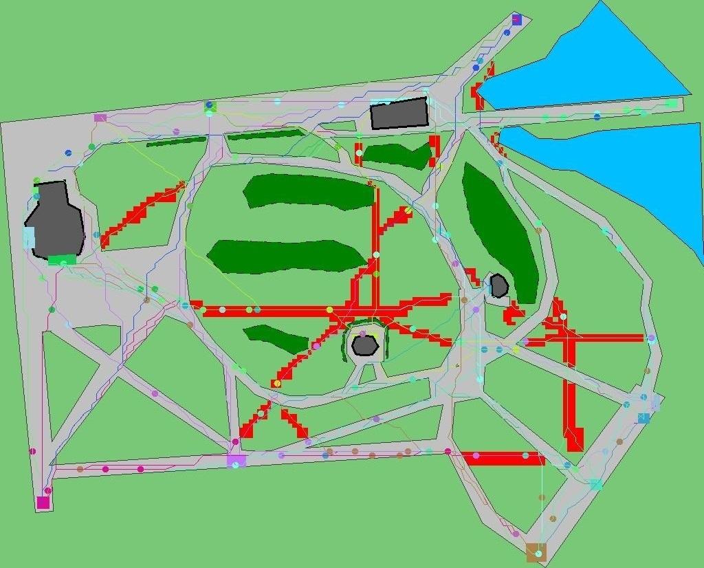 Уличная грязь и симуляция движения пешеходов - 13