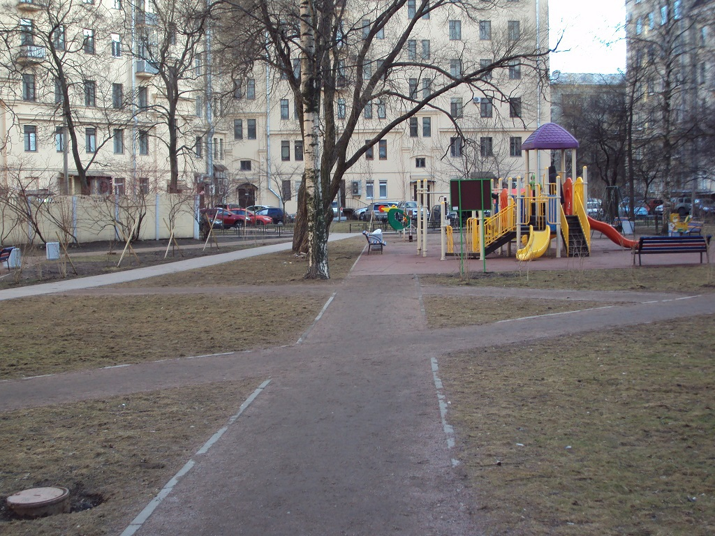 Уличная грязь и симуляция движения пешеходов - 3