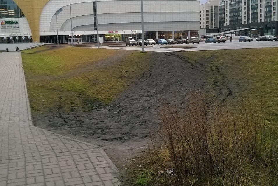 Уличная грязь и симуляция движения пешеходов - 1