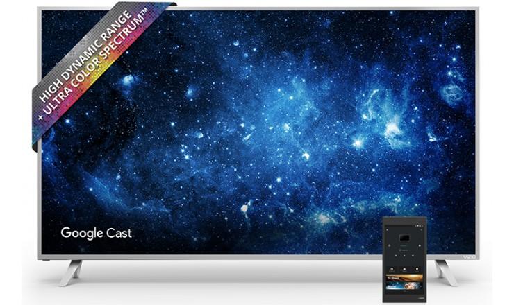 «Ум» телевизоров линейки Vizio SmartCast P-Series заключен в комплектном планшете, который работает под управлением Android