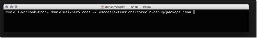 Экспериментальная функция отладки .NET Core в Visual Studio Code - 5