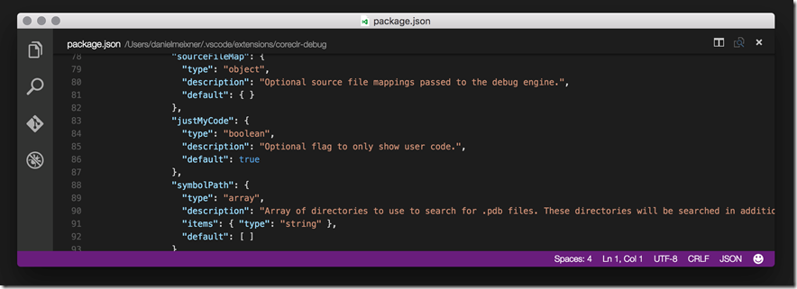 Экспериментальная функция отладки .NET Core в Visual Studio Code - 6