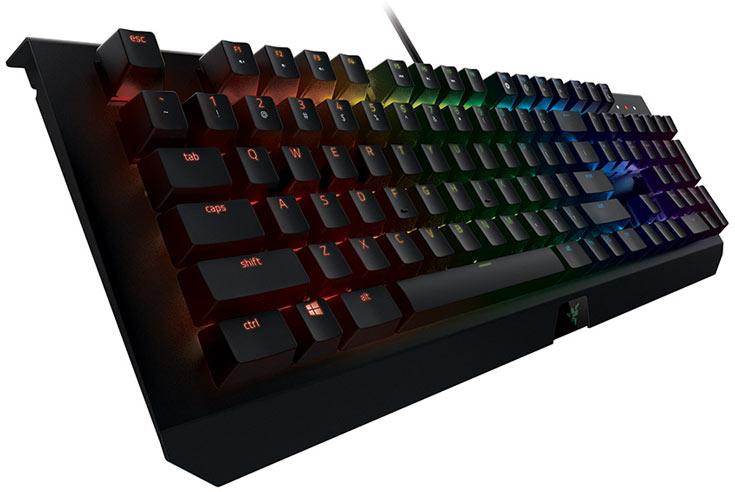 Линейка Razer BlackWidow X включает модели с индивидуальной настраиваемой подсветкой клавиш Razer Chroma и без нее