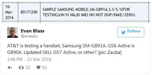 Смартфон Samsung Galaxy S7 Active пересек индийскую границу