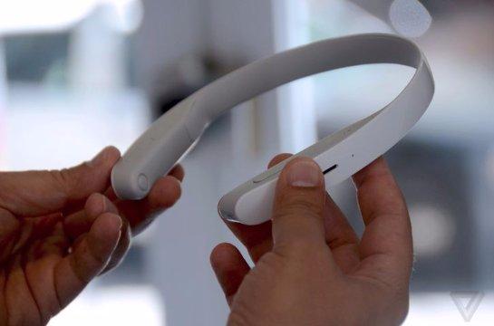 Sony Concept N- наушники, которые не нужно надевать на уши