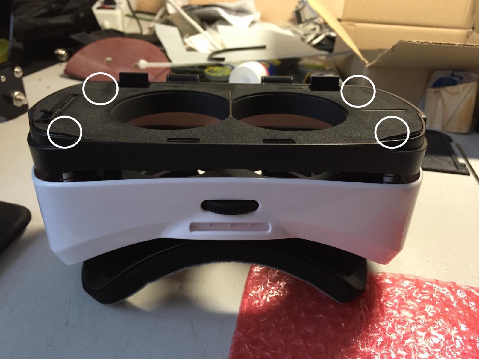 Доработка очков виртуальной реальности для дальнозорких - 2