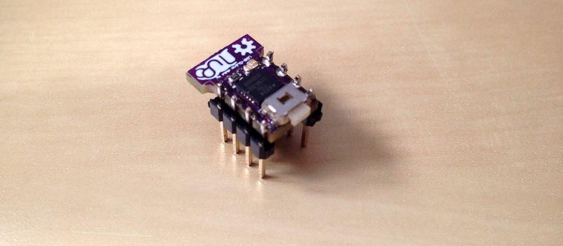 Маленькое, с восемью ножками и работает, как Arduino — что это? - 1