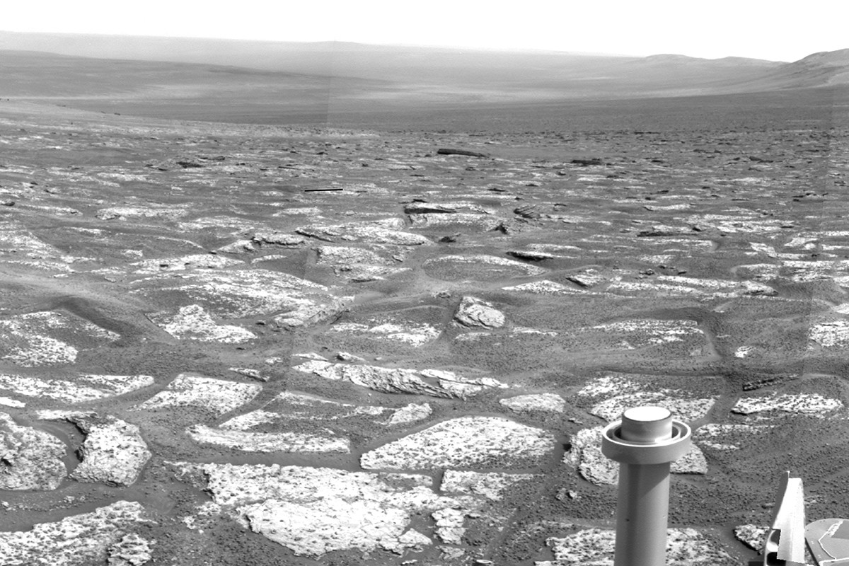 Причиной появления «океана-однодневки» на Марсе могли стать астероиды - 2