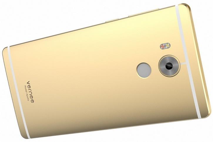 Смартфон Vernee Apollo с 6 ГБ оперативной памяти оценен в $400