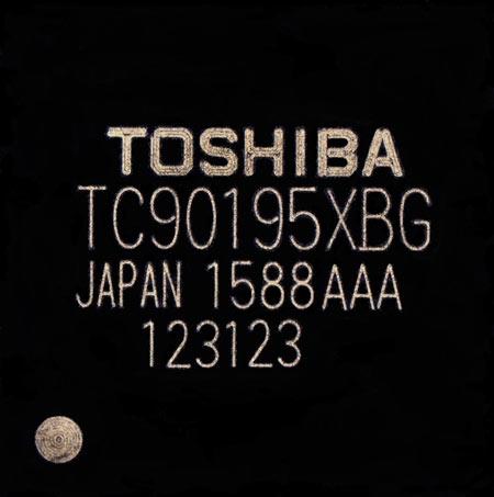 Toshiba TC90195XBG обрабатывает два изображения одновременно
