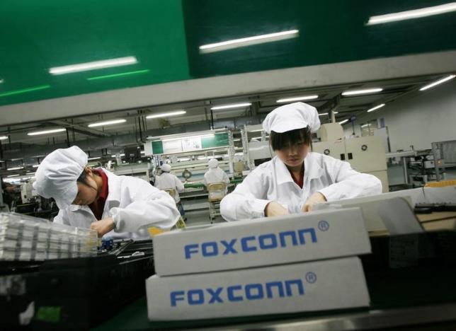 Одновременно с акциями компании Foxconn заморожены акции ее отделения Foxconn Technology