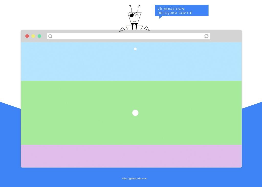 библиотека для создания индикаторов загрузки - Shelleylowe css-animations