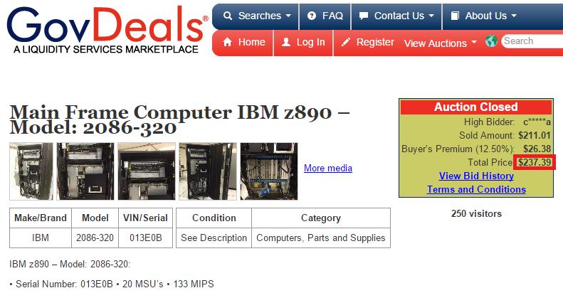 18-летний энтузиаст купил и установил в подвале мейнфрейм IBM z890 (2004 год) - 1