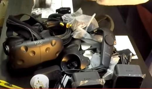 HTC Vive Pre: препарирование коробки и первые впечатления - 3