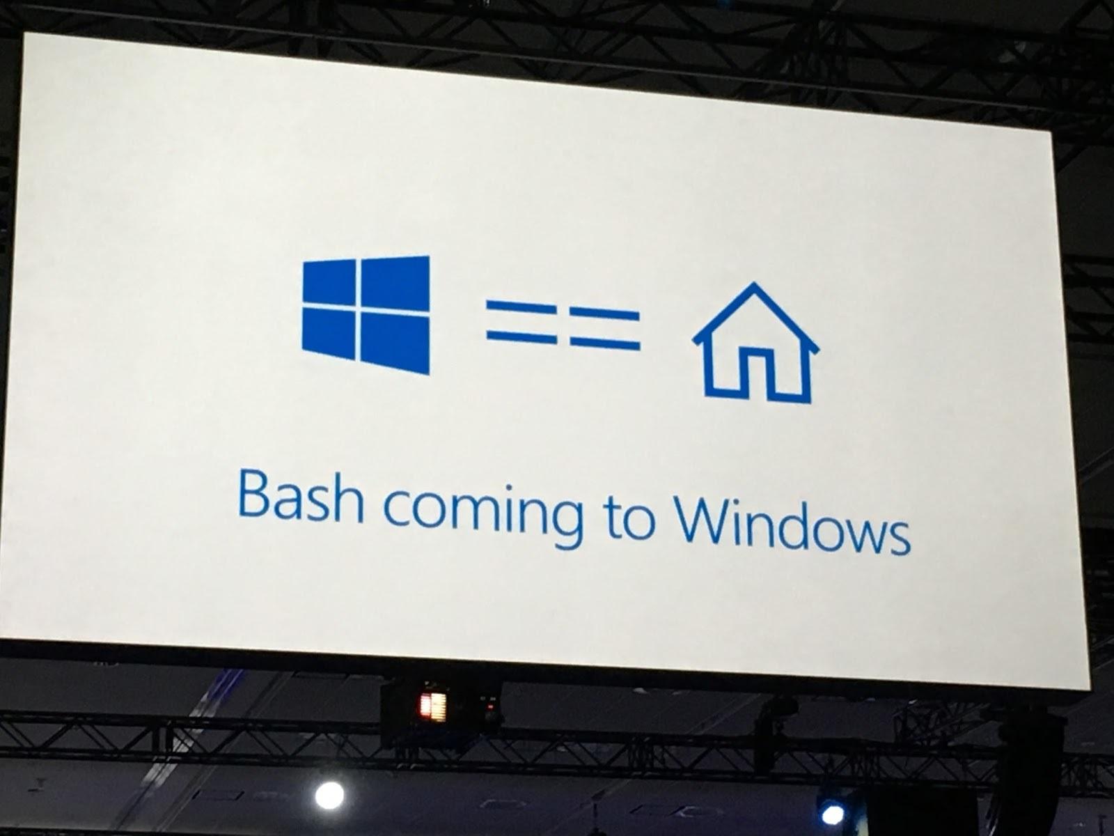 Ubuntu интегрировали в Windows 10 - 2