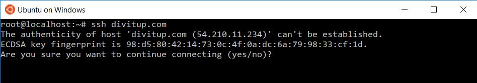 Ubuntu интегрировали в Windows 10 - 5