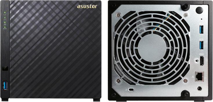 Хранилища с сетевым подключением Asustor AS3202T и AS3204T относятся к начальному уровню