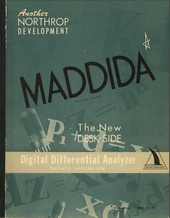 Ламповые компьютеры: MADDIDA - 13