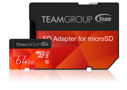 Новые карты памяти Team Group выпускаются объемом 64 ГБ