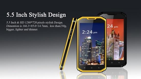 Смартфон VPhone X3 имеет степень защиты IP68 и оснащен аккумулятором емкостью 4500 мА•ч