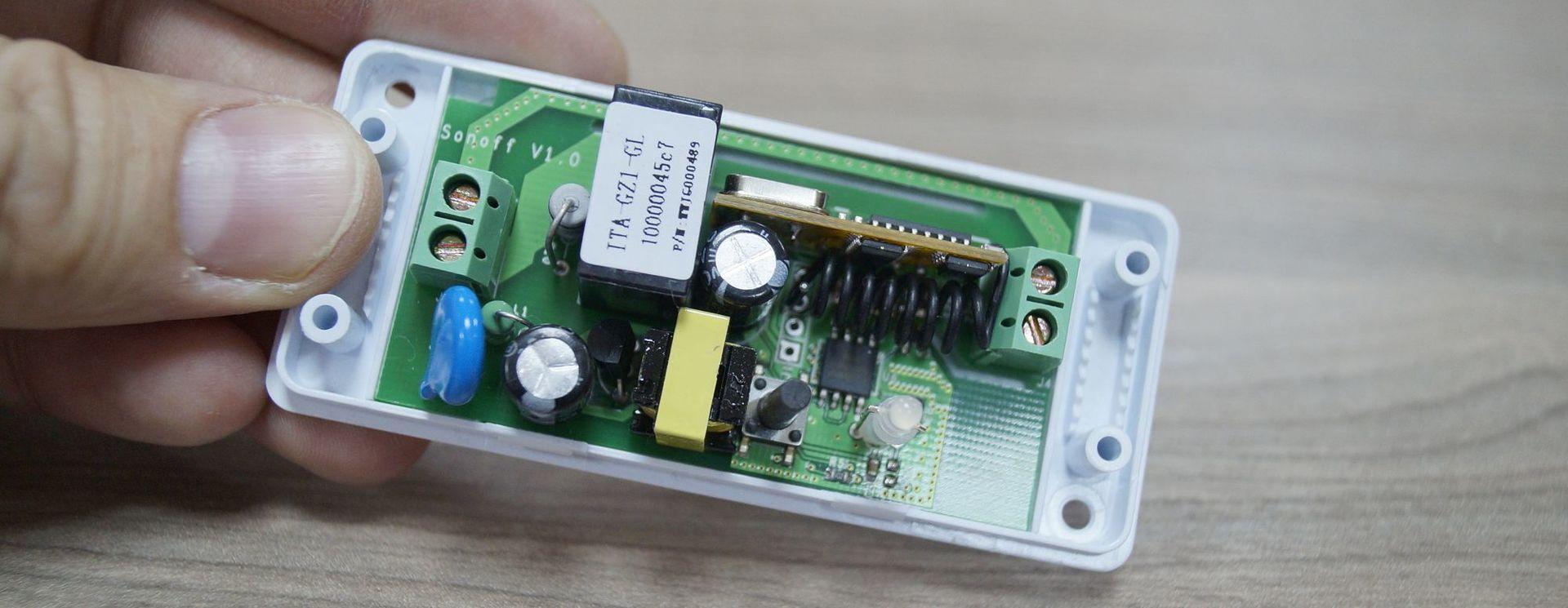 Умная дача #1. Модули Sonoff от ITEAD - 9